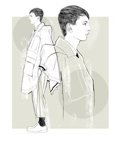 Personal work by Tracy Turnbull, via Behance