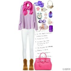 Pink+Purple Season for Spring 2014;If you are interesed, pls follow my board, we can share the fashion clothes style!