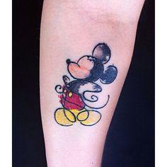 50 inspirações para Tatuagem Disney