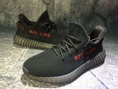 more photos 67285 99c91 Latest adidas Yeezy Boost 350 V2 Black Core Black Solar Red CP9652 2018  Online Adidas Running