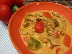 Gyrossuppe in der Low Carb-Variante. Eine sättigende leckere Suppe, die auch auf Party´s keine Wünsche offen lässt.