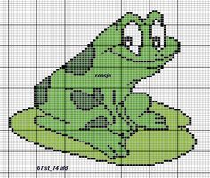 sandylandya.Frog perler bead pattern