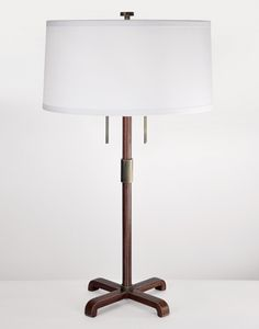 "Mason Table Lamp - fuselighting.com  Height	27""	 Base	9 1/2"" W x 9 1/2"" D x 19 1/2"" H	 Shade	15"" diameter x 7 1/2"" H"