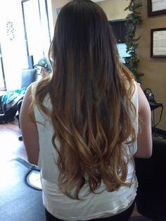 Ombre hair =)