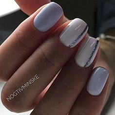 Nägel Delicate Nail Art Designs 2019 The perfect wedding hairstyle for th Acrylic Nails Natural, Natural Nails, Winter Nail Designs, Nail Art Designs, Nails Design, Diy Wedding Nails, Hair And Nails, My Nails, Beach Nails