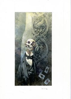 Paintings | The Art of Mike Mignola