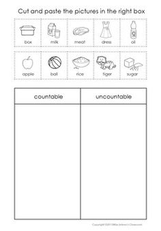 60a78f56eed99c3544af3cd1a62613b6 Teaching Countable And Uncountable Nouns To Young Learners on