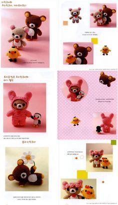 Rilakkuma Bear Amigurumi Crochet Craft Book Crafts ...