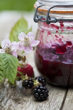 Preserves:  Raspberry Jam