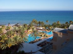 Holiday on Gran Canaria - view from our room at the Hotel Orquidea