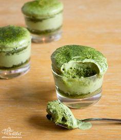 Matchamisu = Matcha (Green Tea) Tiramisu --I don't know how I feel about this...but it looks delicious!