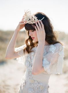 who knew a wheat grain can be made to look like a crown.Poseidon shoot with Oncewed