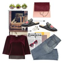 """""""Untitled #594"""" by krahmmm ❤ liked on Polyvore featuring Gucci, River Island, Alexander McQueen, Red Camel and Chloé"""
