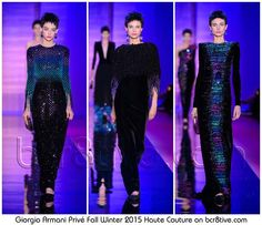 Armani Privé Fall 2015 Haute Couture