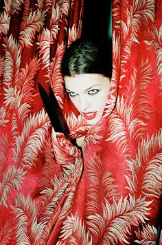 Milla Jovovich by Chris Floyd 1994