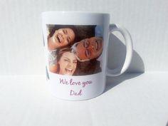 11 oz personalized photo coffee mug coffee by KeishasKreativity