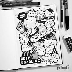 Keep Doodling [Some Tips]   Watch my new doodle video on YouTube channel: Pic Candle www.youtube.com/piccandle
