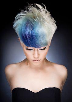 www.estetica.it  Hair: Shogo Ideguchi @ Fabric Salon  Photo: John Rawson  Make up: Faye Campbell  Stylist: Marika Page