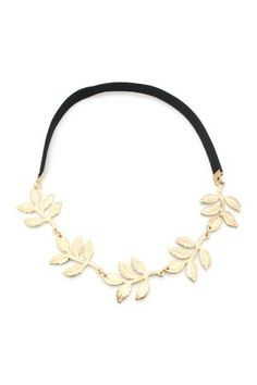 Channel your inner grecian goddess with a leaf headband. #bohochic #goodwilldet #gotjobs