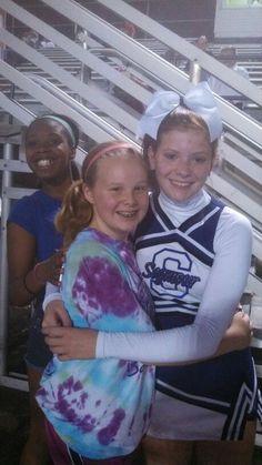 Me and my fav cheerleader