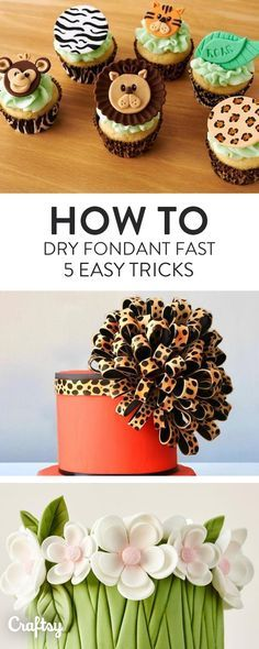Do you know these 5 essential rules for making fondant dry faster?