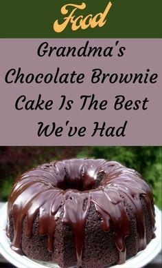 Chocolate Brownie Cake, Chocolate Desserts, Easy Chocolate Cake Recipe, Chocolate Filling For Cake, Cake Mix Recipes, Dessert Recipes, Cake Mixes, Bunt Cakes, Cupcake Cakes