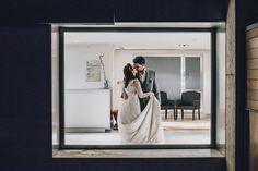 #bodas #ideales en el #Parador de #Alcalá de Henares #wedding #novios #beso #amor #eterno #love
