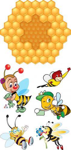 blogm1: arı resimleri vektör Bee Rocks, Bee Pictures, Bee Drawing, Cartoon Bee, Bee Illustration, Bee Party, Cute Bee, Animal Activities, Hexagon Pattern