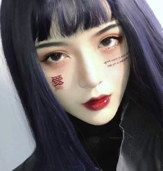 3ce Makeup, Beauty Makeup, Hair Beauty, Aesthetic Hair, Aesthetic Makeup, Violet Hair, Purple Hair, Light Blue Hair, Kawaii Makeup