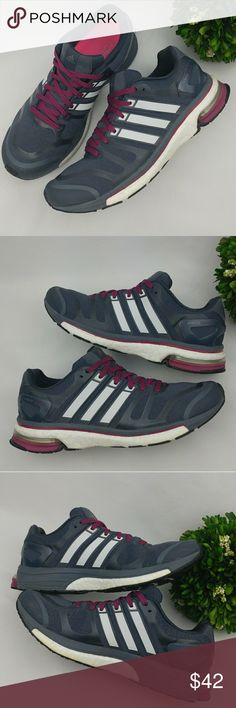 aa4214a6de4e Spotted while shopping on Poshmark  Adidas Adistar Boost Ladies Running  Shoes Grey!