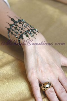 HENNA & MEHNDI THE BRIDAL COLLECTION by HENNA & MEHNDI BRIDAL DESIGNS~jewels!~(turquoise!~now Russ & I must have another wedding~squeeeee!~)