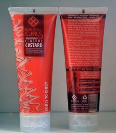 Curl Control Custard is a water-soluble, natural gel–free of residues for curly hair with frizz control. It's perfect to use for braiding. Enriched with vitamins and minerals to stimulate hair growth