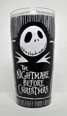 Nightmare Before Christmas 20oz Stainless Steel Tumbler