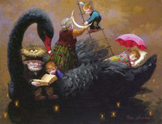 Victor Nizovtsev giclees of fables, fantasy, theatrical and imaginative art, Page 3