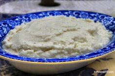 """Mashed cauliflower """"mashed potatoes"""""""