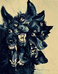 caroro93morgan-cursed-wolf-painting