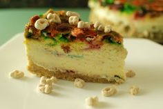 Lucky Charms Cheesecake - The Food in My Beard