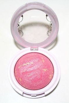 We love this bright blush that lasts all day. Hard Candy Blush Crush Baked Blush, $7, walmart.com