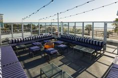 Suite 700 This rooftop bar atop the Hotel Shangri-La boasts sweeping ocean views. Head there for happy hour for a quintessential Santa Monica experience. Suite 700, 1301 Ocean Avenue; 310-394-2791. #refinery29 http://www.refinery29.com/santa-monica-travel-guide#slide-6