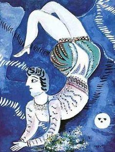 Acrobat - Marc Chagall ~Via Laurie Mullikin