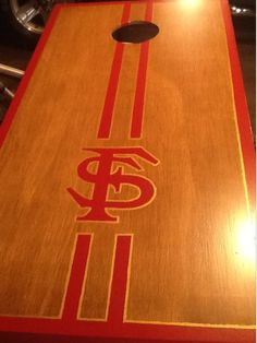 Custom Cornhole Boards Hand Made and Hand Painted by BertsWoodnCrafts, $165.00
