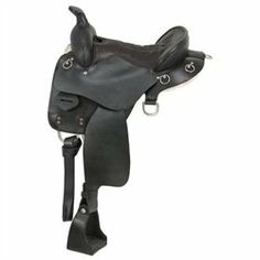 King Series Trekker Endurance Saddle with horn 16.5 Brown