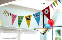 @Desiree Nechacov Tenorio, this would be so easy to do as Sesame Street characters for Doms party!