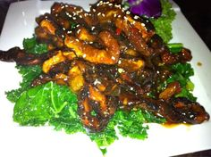 Jade mushrooms - best shared as an appetizer rather than entree for one | Yelp