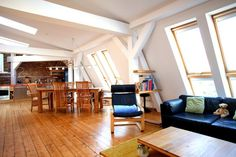 attic loft..........what a neat hangout spot