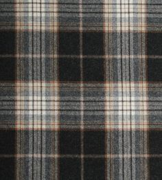 Lomond Tartan Fabric from Osborne & Little is a grey, tan, black and white tartan fabric that is made of wonderfully soft wool. It can be used as an upholstery fabric, curtains material and on soft furnishings. Order a sample now! Fabric Textures, Textures Patterns, Fabric Patterns, Turandot Opera, Osborne And Little, Scottish Tartans, Scottish Clans, Modern Color Palette, Curtain Material