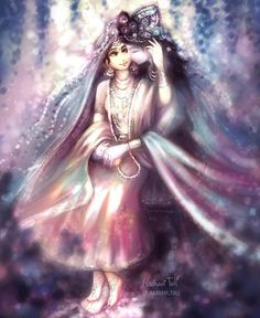 Sri Radha Krishna divine by Madhavi Tuli Krishna Love