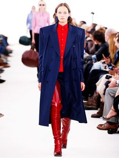 10. Balenciaga's ridiculous shouldersLast season it was unnecessarily puffy puffer jackets, this season it's exaggerated shoulders: at Balenciaga SS17, Demna Gvasalia opted for a candy-coloured collection to make his mark as the new creative director. The shock departure of former head designer Alexander Wang left the fashion crowd questioning whether Gvasalia could fill Wang's rather large Ceinture boots. Seems like he did juuuust fine.