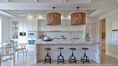Beautiful All White Kitchens on Houzz.com contemporary kitchen by Green Couch Interior Design