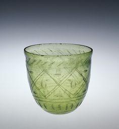 Roman Glass: Beaker, 300-399 | Corning Museum of Glass